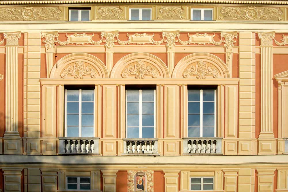 Particolare Palazzo Multedo